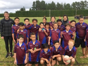 North Hokianga U11 Rugby Team 2017